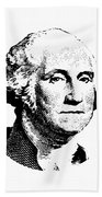 President Washington Bath Towel by War Is Hell Store