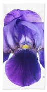 Prettiest Purple Iris Bath Towel
