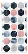 Pretty Dots Hand Towel by Elisabeth Fredriksson