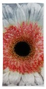 Pretty Gerbera Macro Bath Towel