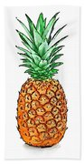 Pretty Pineapple II Hand Towel
