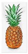 Pretty Pineapple II Bath Towel