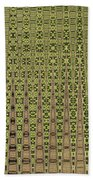 Prickly Pear Abstract # 5271wt Bath Towel