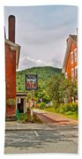 Prince And The Pauper Restaurant In Woodstock-vermont  Bath Towel