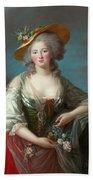 Princess Elisabeth Of France Bath Towel