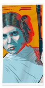 Princess Leia Bath Towel