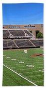 Princeton University Stadium Powers Field Panoramic Bath Towel