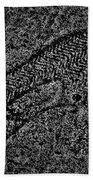 Print On Concrete Bath Towel
