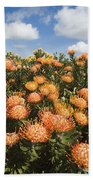 Protea Blossoms Bath Towel
