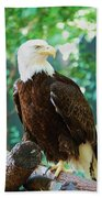Proud Eagle Bath Towel