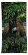 Provence Donkey Bath Towel