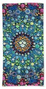 Psychedelic Mandala Bath Towel