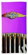 Psychedelic Morgan 4/4 Badge And Radiator Bath Towel