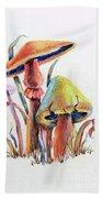 Psychedelic Mushrooms Bath Towel