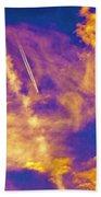 Psychedelic Skys Bath Towel