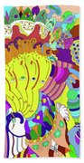 Psychedellic Pinch Bath Towel