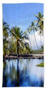 Pu Uhonua O Honaunau Pond Hand Towel