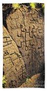 Puako Petroglyphs Bath Towel