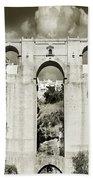 Puente Nuevo Tajo De Ronda Andalucia Spain Europe Hand Towel