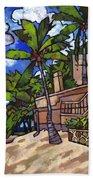 Puerto Vallarta Landscape Bath Towel