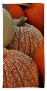 Pumpkin Colors Bath Sheet