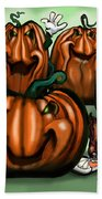 Pumpkin Party Bath Towel