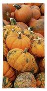 Pumpkins For Sale Bath Towel