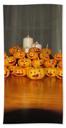 Pumpkins Bath Towel