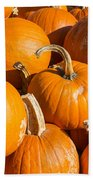 Pumpkins Pile 1 Bath Towel