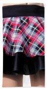 Punk Style Mini Skirt - Ameynra Fashion Bath Towel