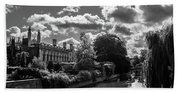 Punting, Cambridge. Bath Towel
