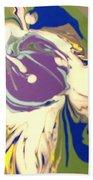 Purple Calla Lilly Bath Towel