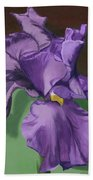 Purple Fantasy Hand Towel