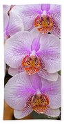 Purple Orchid 1 Bath Towel