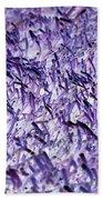 Purple, Purple, And More Purple Bath Towel