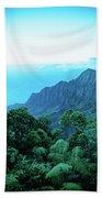 Puu O Kila Lookout, Kauai, Hi Bath Towel