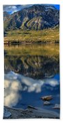 Pyramid Lake Resort Reflections Bath Towel