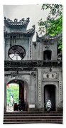 Quan Thanh Temple Gate Hand Towel