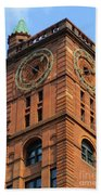 Quebec Bank Building Bath Towel