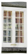 Quebec City Windows 47 Bath Towel