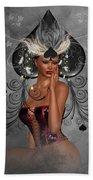 Queen Of Spades Hand Towel