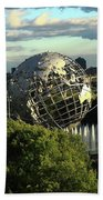 Queens New York City - Unisphere Bath Towel