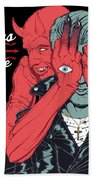 Queens Of The Stone Age Bath Towel