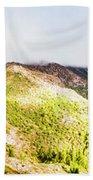 Queenstown Tasmania Wide Mountain Landscape Bath Towel