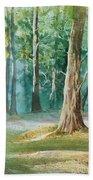 Quiet Forest Hand Towel