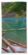 Moraine Lake I, Alberta Bath Towel