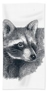 Raccoon Bath Towel