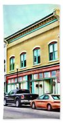Radford Virginia - Along Main Street Bath Sheet by Kerri Farley