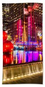 Radio City Music Hall - New York City Usa Bath Towel