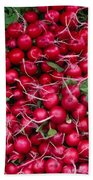 Radishes Bath Towel
